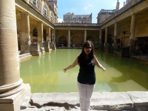 Me at Aquae Sulis