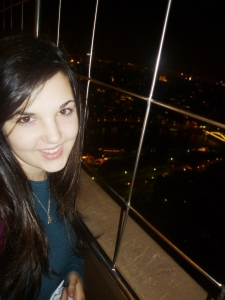 Me having a great time at the Tour Eiffel during a solo visit to Paris #selfie