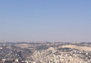 View of Old Jerusalem