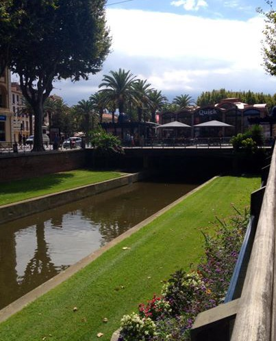 Perpignan, the arrival (26th August)