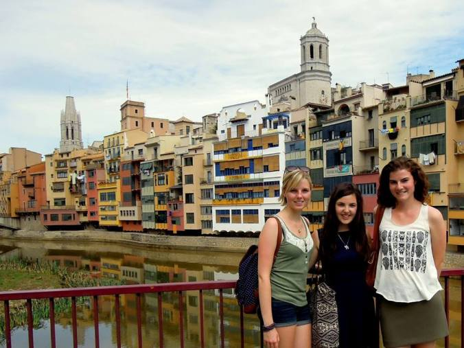 A month full of travel: Banyuls-sur-mer, Collioure, Carcassonne, Villefranche-de-Conflent and GIRONA