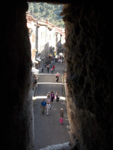 View from the Remparts