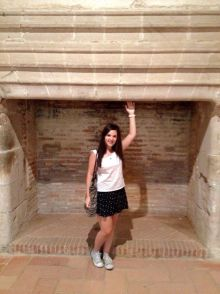 Biggest fireplace in the Forteresse de Salses