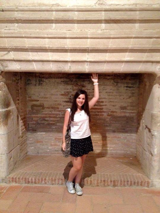 Biggest fireplace in the Forteresse de Salses