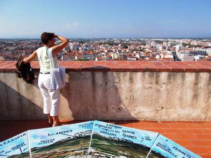 View from the rooftop - Le Palais des rois de Majorque