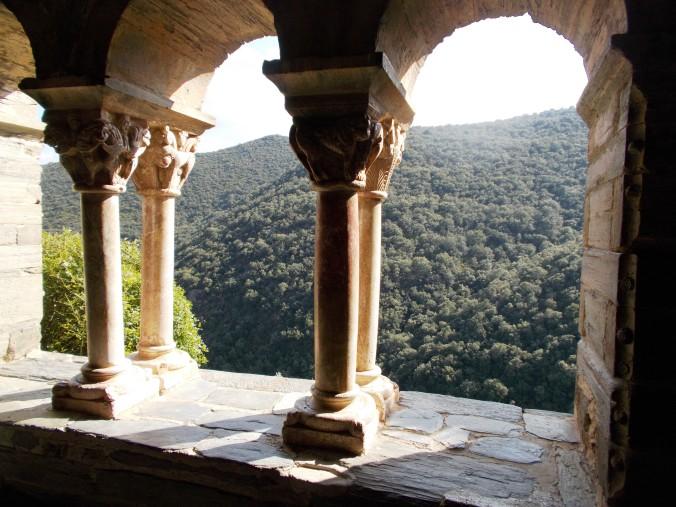 Just look at this view!!!  La Prieuré de Serrabonne