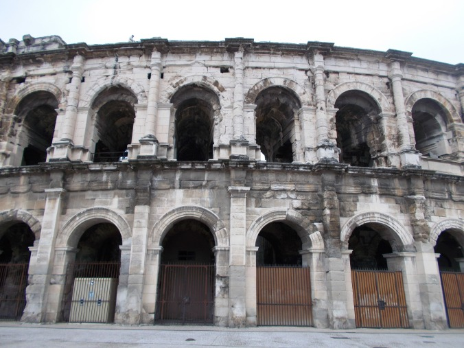 Les Arènes during a weekend trip to Nîmes,