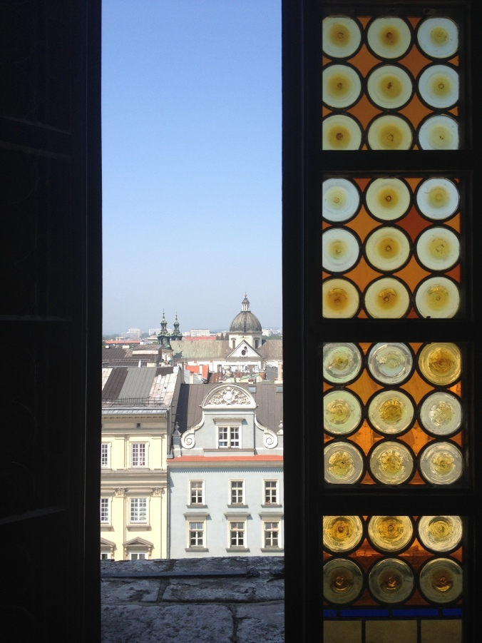 View from the Town Hall Tower, Kraków. Need I say more?