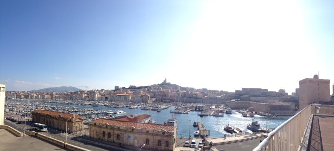 Panorama of Marseille