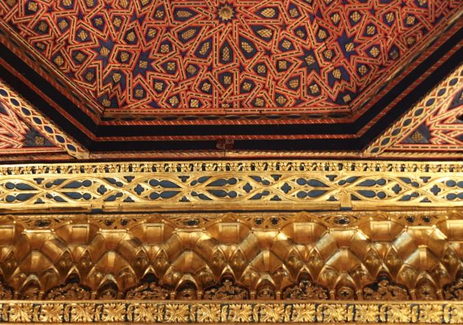 Ceiling in the alcazár