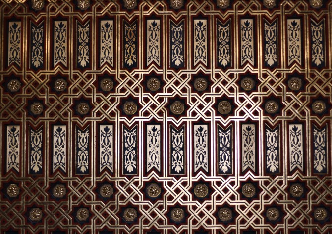 Ceiling in the alcazár