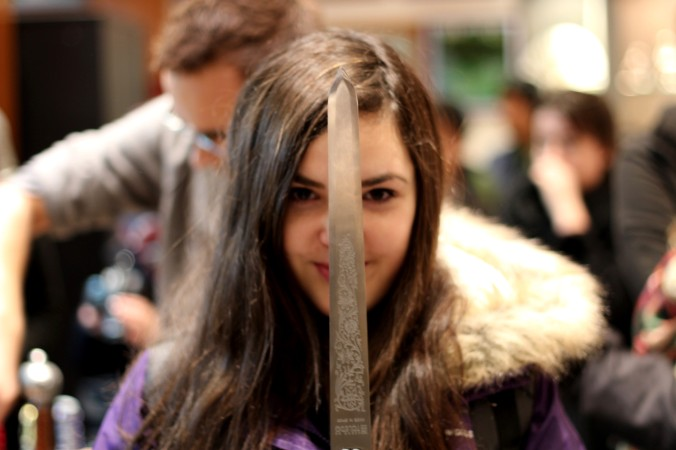 Me at the sword's factory