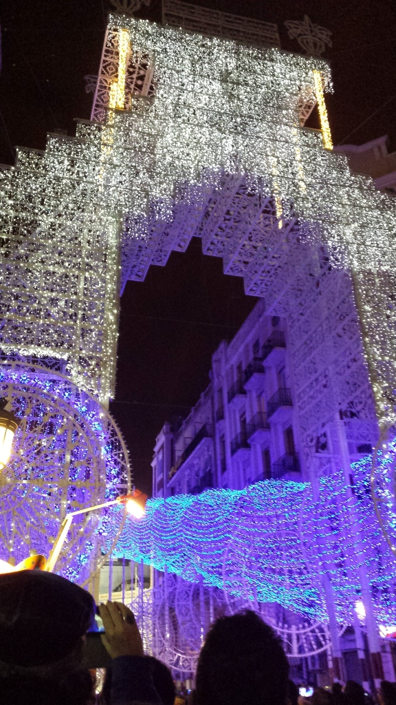 Calle Cuba light show