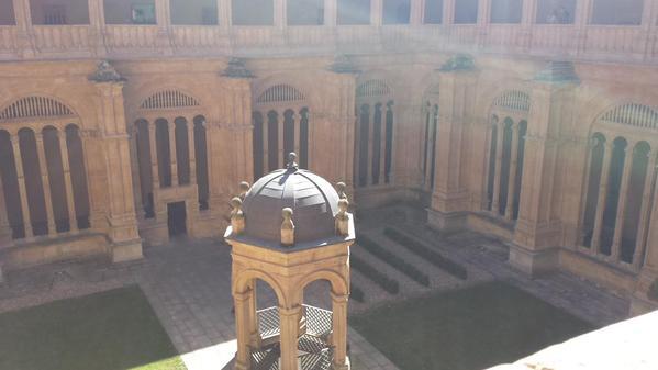 Inside the Convento de San Estaban