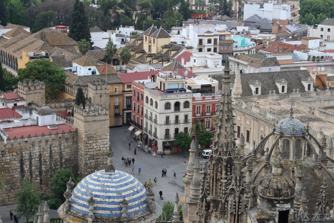View of Sevilla from the Cathedral