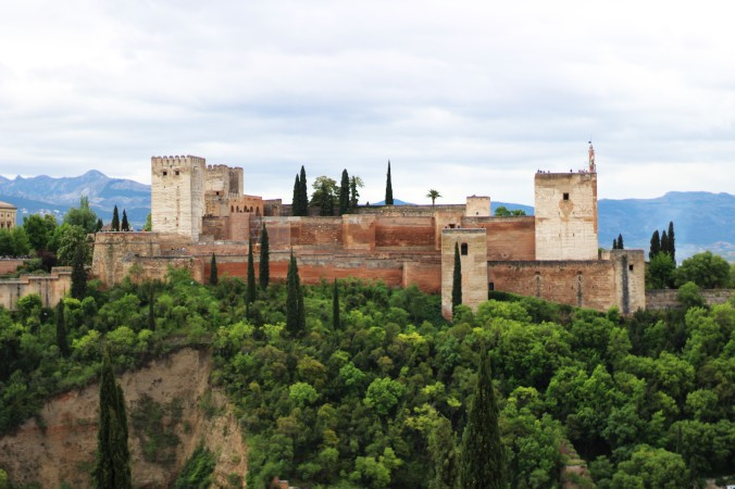 View of The Alhambra from Mirador San Nicolás