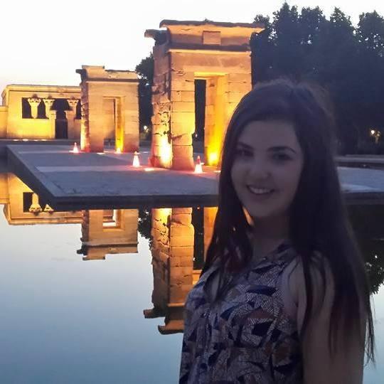 Me at El Templo de Debod