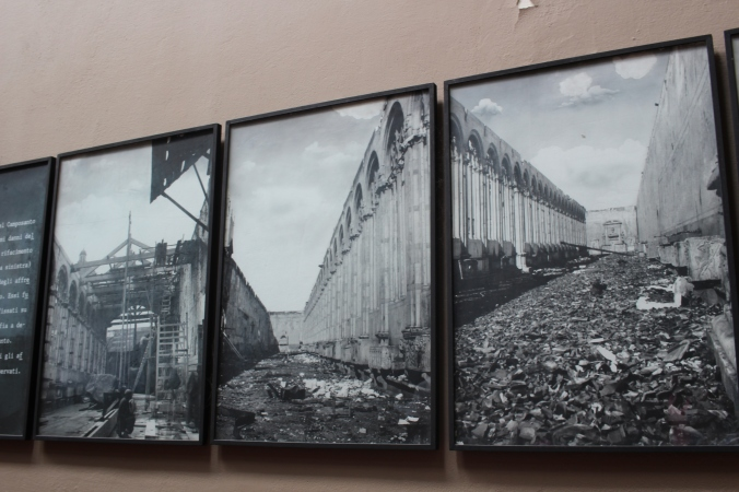 Images of the destruction after the fire