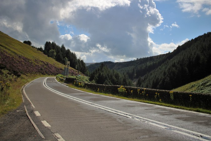 Beautiful views on the Snake Pass