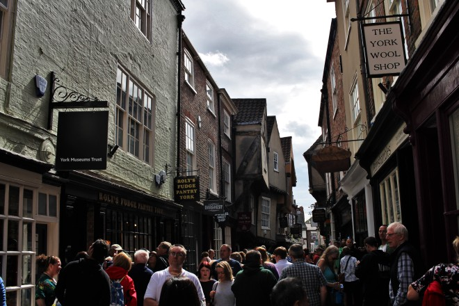 Walking down the Shambles
