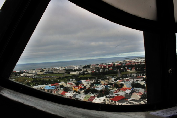 View from Hallgrímskirkja church tower