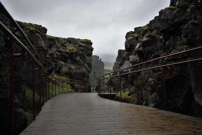 Rift Valley at Thingvellir
