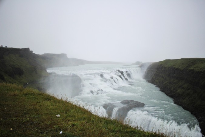 The mighty Gullfoss