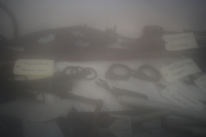 Items retrieved from the 1953 expedition